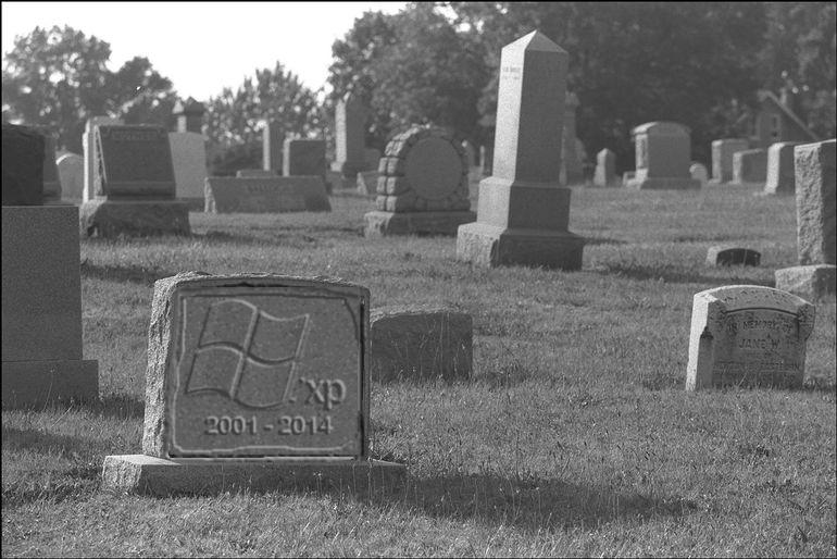 RIP Windows XP (2001-2014)