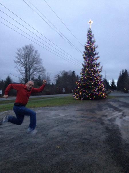 Merry Christmas from Running Man